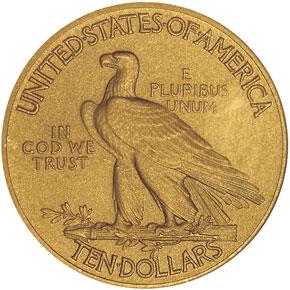 1911 $10 PF reverse