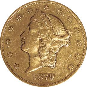 1879 O $20 MS obverse