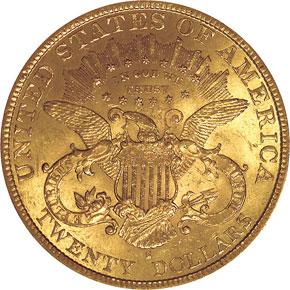 1894 S $20 MS reverse