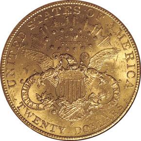 1901 S $20 MS reverse
