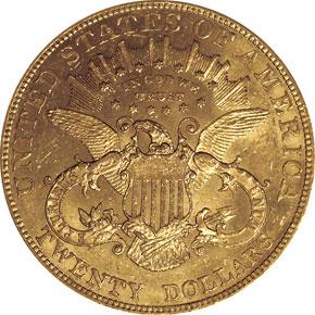1902 $20 MS reverse