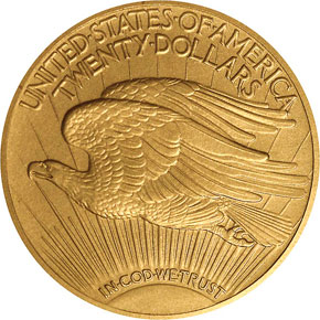 1914 $20 PF reverse