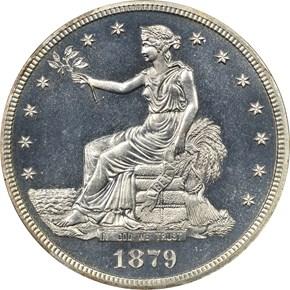 1879 T$1 PF obverse