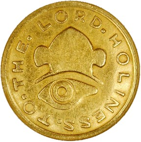 1849 MORMON $2.5 MS obverse