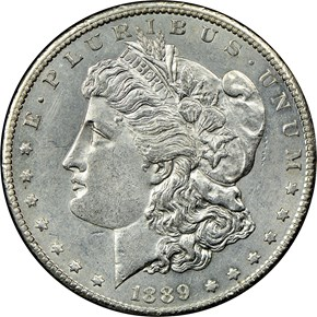 1889 CC $1 MS obverse