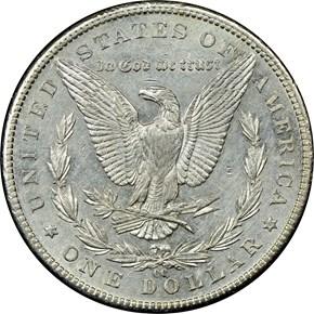 1889 CC $1 MS reverse