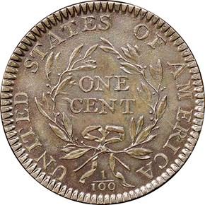 1794 1C MS reverse