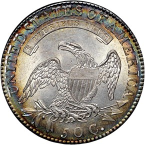 1818 50C MS reverse