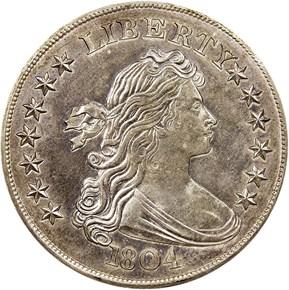 1804 CLASS III $1 PF obverse
