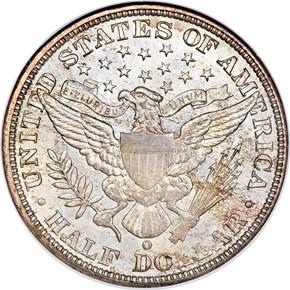 1900 O 50C MS reverse