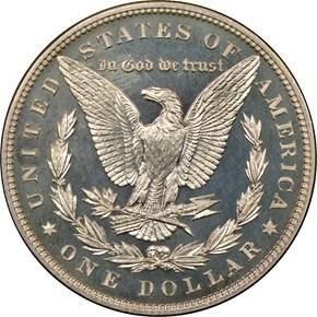 1899 $1 PF reverse