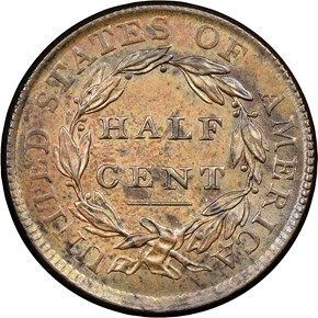 1809 OVER INVERTED 9 C-5 1/2C MS reverse