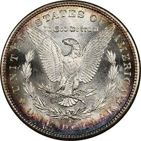 1881 S$1 MS reverse
