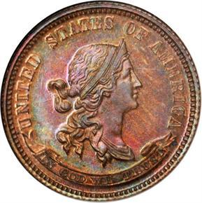 1870 J-863 10C PF obverse
