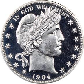 1904 50C PF obverse