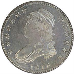 1818 50C PF obverse