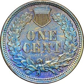 1882 1C PF reverse