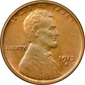 1912 S 1C MS obverse