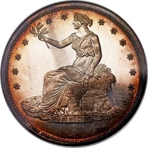 (1876) J-1475a T$1 PF obverse