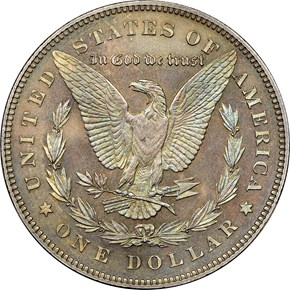 1878 7TF REV OF 78 $1 PF reverse