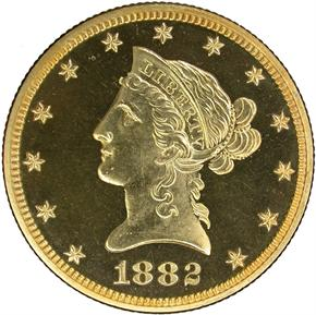 1882 $10 PF obverse