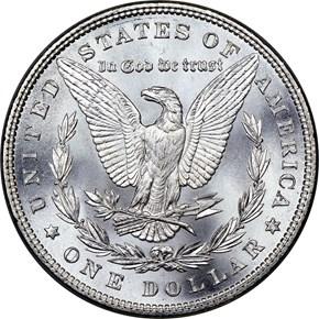 1885 $1 MS reverse