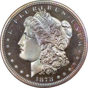 1878 J-1565 S$1 PF obverse