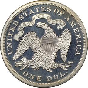 1870 J-1014 S$1 PF reverse
