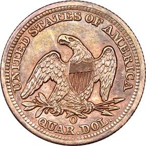 1850 O 25C MS reverse