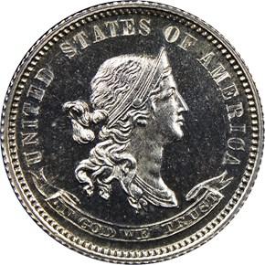 1870 J-861 10C PF obverse