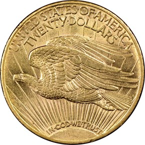 1920 S $20 MS reverse