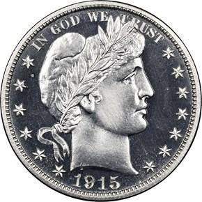 1915 50C PF obverse