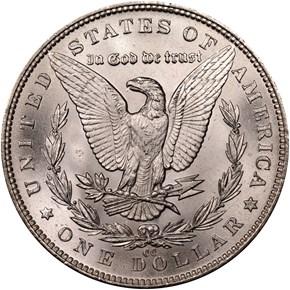 1891 CC S$1 MS reverse