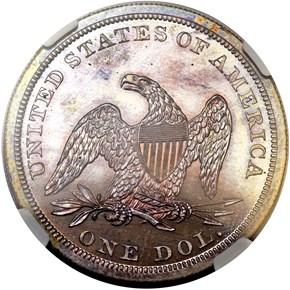 1848 S$1 PF reverse