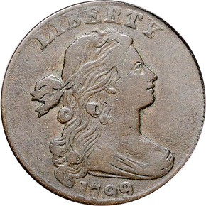 1799 1C MS obverse