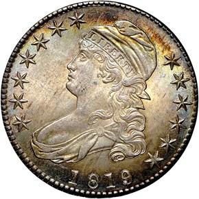 1819/8 50C MS obverse