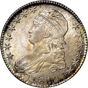 1819 50C MS obverse