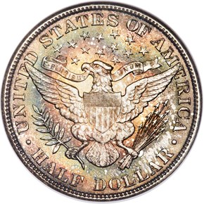 1905 50C MS reverse