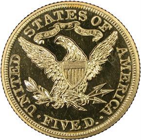 1902 $5 PF reverse