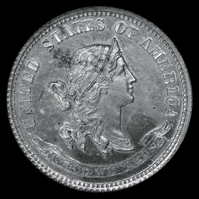 1870 J-847 10C PF obverse