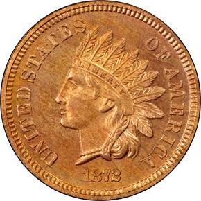 1872 1C PF obverse