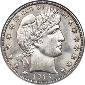1913 50C MS obverse