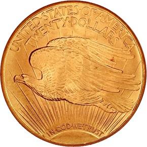 1927 D $20 MS reverse