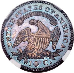 1824/2 10C PF reverse