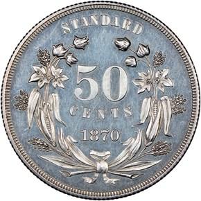 1870 J-939 50C PF reverse