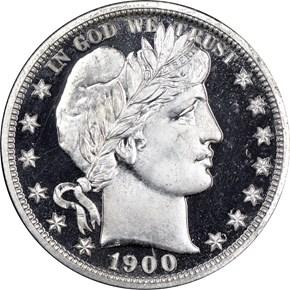 1900 50C PF obverse