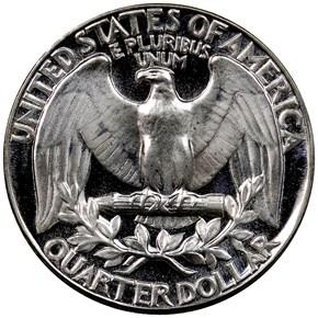 1951 25C PF reverse
