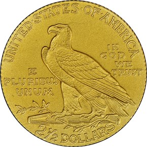 1911 $2.5 PF reverse