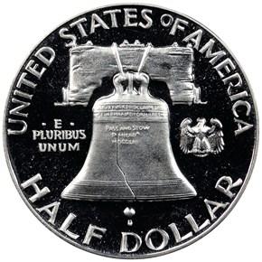 1952 50C PF reverse