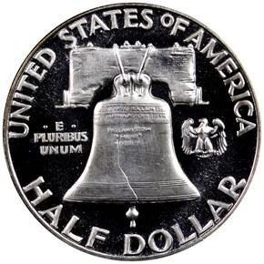 1954 50C PF reverse